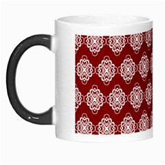 Abstract Knot Geometric Tile Pattern Morph Mugs by creativemom