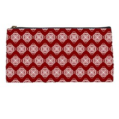 Abstract Knot Geometric Tile Pattern Pencil Cases by creativemom