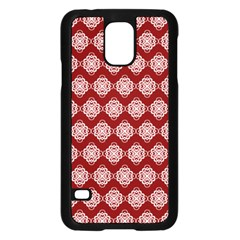 Abstract Knot Geometric Tile Pattern Samsung Galaxy S5 Case (black) by creativemom