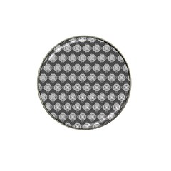 Abstract Knot Geometric Tile Pattern Hat Clip Ball Marker (4 Pack) by creativemom