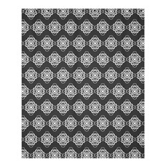 Abstract Knot Geometric Tile Pattern Shower Curtain 60  X 72  (medium)  by creativemom