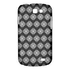 Abstract Knot Geometric Tile Pattern Samsung Galaxy Express I8730 Hardshell Case  by creativemom