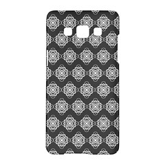 Abstract Knot Geometric Tile Pattern Samsung Galaxy A5 Hardshell Case  by creativemom