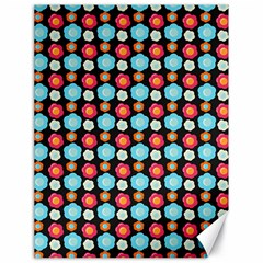 Colorful Floral Pattern Canvas 18  X 24   by creativemom