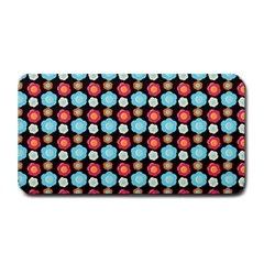 Colorful Floral Pattern Medium Bar Mats by creativemom