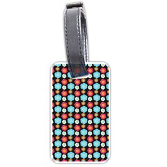 Colorful Floral Pattern Luggage Tags (two Sides) by creativemom