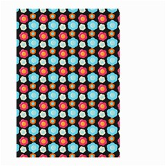 Colorful Floral Pattern Small Garden Flag (two Sides) by creativemom