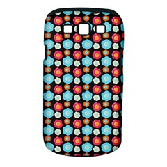 Colorful Floral Pattern Samsung Galaxy S Iii Classic Hardshell Case (pc+silicone) by creativemom