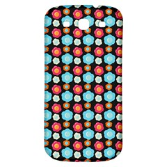 Colorful Floral Pattern Samsung Galaxy S3 S Iii Classic Hardshell Back Case by creativemom