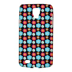 Colorful Floral Pattern Galaxy S4 Active by creativemom