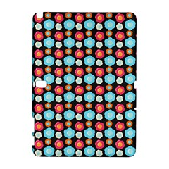 Colorful Floral Pattern Samsung Galaxy Note 10 1 (p600) Hardshell Case by creativemom