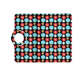 Colorful Floral Pattern Kindle Fire Hdx 8 9  Flip 360 Case by creativemom