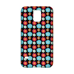 Colorful Floral Pattern Samsung Galaxy S5 Hardshell Case  by creativemom