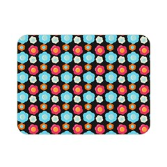 Colorful Floral Pattern Double Sided Flano Blanket (mini)  by creativemom