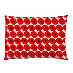 Red Peony Flower Pattern Pillow Cases (two Sides) by creativemom