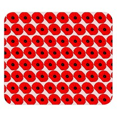 Red Peony Flower Pattern Double Sided Flano Blanket (small)  by creativemom