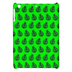 Ladybug Vector Geometric Tile Pattern Apple Ipad Mini Hardshell Case by creativemom