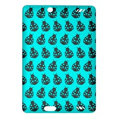 Ladybug Vector Geometric Tile Pattern Kindle Fire Hd (2013) Hardshell Case by creativemom