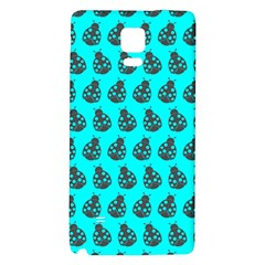 Ladybug Vector Geometric Tile Pattern Galaxy Note 4 Back Case by creativemom