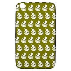 Ladybug Vector Geometric Tile Pattern Samsung Galaxy Tab 3 (8 ) T3100 Hardshell Case  by creativemom