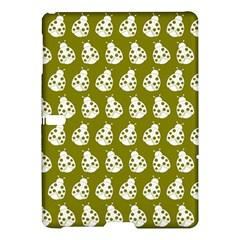 Ladybug Vector Geometric Tile Pattern Samsung Galaxy Tab S (10 5 ) Hardshell Case  by creativemom