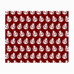 Ladybug Vector Geometric Tile Pattern Small Glasses Cloth by creativemom