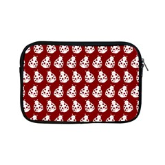 Ladybug Vector Geometric Tile Pattern Apple Ipad Mini Zipper Cases by creativemom