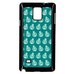 Ladybug Vector Geometric Tile Pattern Samsung Galaxy Note 4 Case (black) by creativemom