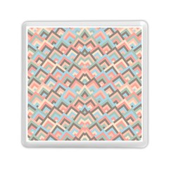 Trendy Chic Modern Chevron Pattern Memory Card Reader (square)  by creativemom