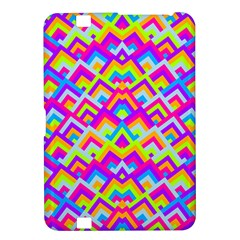 Colorful Trendy Chic Modern Chevron Pattern Kindle Fire HD 8.9  by creativemom