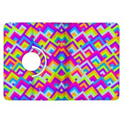 Colorful Trendy Chic Modern Chevron Pattern Kindle Fire Hdx Flip 360 Case by creativemom