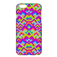 Colorful Trendy Chic Modern Chevron Pattern Apple Iphone 6/6s Plus Hardshell Case by creativemom
