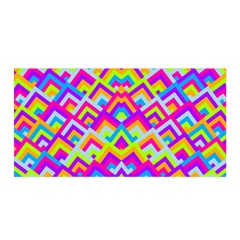Colorful Trendy Chic Modern Chevron Pattern Satin Wrap by creativemom