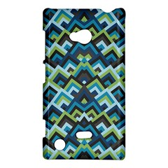 Trendy Chic Modern Chevron Pattern Nokia Lumia 720 by creativemom