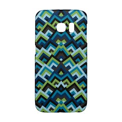 Trendy Chic Modern Chevron Pattern Galaxy S6 Edge by creativemom