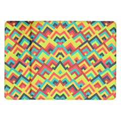 Trendy Chic Modern Chevron Pattern Samsung Galaxy Tab 10 1  P7500 Flip Case by creativemom