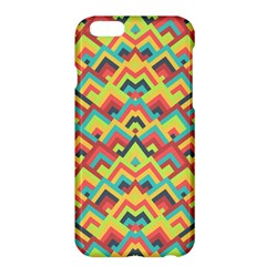 Trendy Chic Modern Chevron Pattern Apple Iphone 6/6s Plus Hardshell Case by creativemom