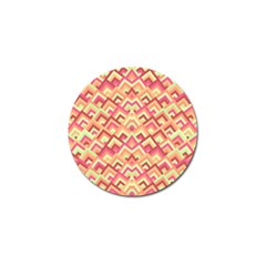 Trendy Chic Modern Chevron Pattern Golf Ball Marker by creativemom