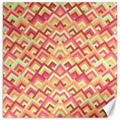Trendy Chic Modern Chevron Pattern Canvas 20  X 20   by creativemom