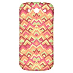 Trendy Chic Modern Chevron Pattern Samsung Galaxy S3 S Iii Classic Hardshell Back Case by creativemom