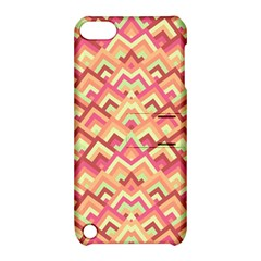 Trendy Chic Modern Chevron Pattern Apple Ipod Touch 5 Hardshell Case With Stand by creativemom