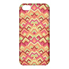 Trendy Chic Modern Chevron Pattern Apple Iphone 5c Hardshell Case by creativemom