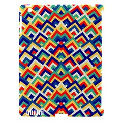 Trendy Chic Modern Chevron Pattern Apple iPad 3/4 Hardshell Case (Compatible with Smart Cover) by creativemom