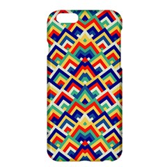 Trendy Chic Modern Chevron Pattern Apple Iphone 6/6s Plus Hardshell Case by creativemom