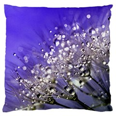 Dandelion 2015 0705 Large Flano Cushion Cases (two Sides)  by JAMFoto
