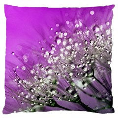 Dandelion 2015 0707 Large Cushion Cases (two Sides)  by JAMFoto