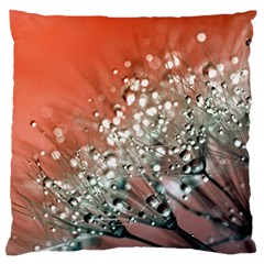 Dandelion 2015 0711 Large Flano Cushion Cases (two Sides)  by JAMFoto
