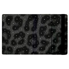Black Cheetah  Apple Ipad 2 Flip Case by OCDesignss