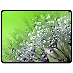 Dandelion 2015 0715 Fleece Blanket (large)  by JAMFoto