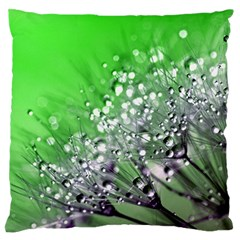 Dandelion 2015 0716 Large Flano Cushion Cases (two Sides)  by JAMFoto